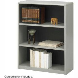 3-Shelf Economy Bookcase - Gray