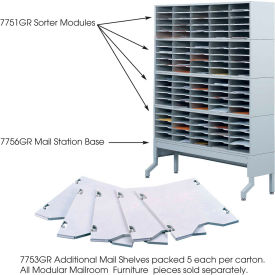 Mailroom Additional Mail Trays