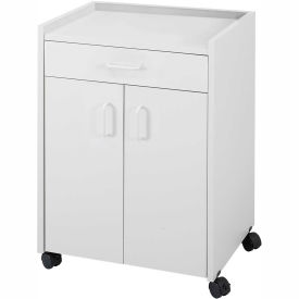 Safco 8954GR - Mobile Refreshment Center With Drawer - Gray