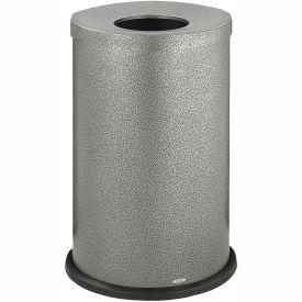Black Speckle Open Top Receptacle - 35 Gallon