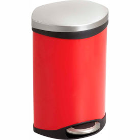Step-On Receptacle - 3 Gallon Red