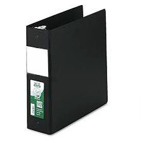 """Click here to buy Antimicrobial Locking Round Ring Binder For 11 X 8-1/2 Sheets, 3"""" Cap., Black."""
