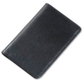 Samsill® RegalTM Leather Business Card Wallet