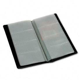 Samsill® RegalTM Leather Business Card File