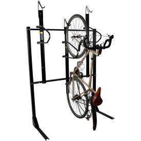 Bike Fixation 8023, Indoor 3 Bike Lockable Vertical Storage Rack