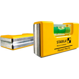 STABILA® 11901 Pocket Pro Magnetic Level W/Holster