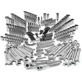Craftsman® Industrial™ Mechanics Tool Set 29794, SAE/Metric, 255 Pc