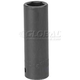 "Craftsman® Industrial™ 9-22386 11/16"" Dual-mark Impact 6 Pt., Socket Deep Inch 1/2"" Drive"