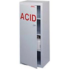 "50x2.5 Liter, Polypropylene Acid Cabinet, Right Hinge, 24""W x 18-1/2""D x 60""H"