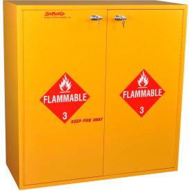 "54 Gallon, Flammable Cabinet, Self-Closing, 43""W x 18""D x 44-5/8""H"