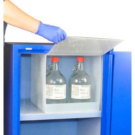 5x2.5 Liter, Nitric Acid Polypropylene Isolation Compartment