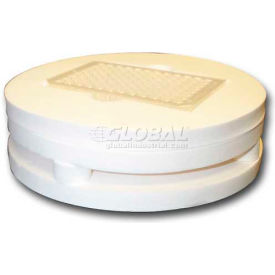 Click here to buy GENIE SI-0510 Two-Tier Microplate Foam Insert, Pack of 1.