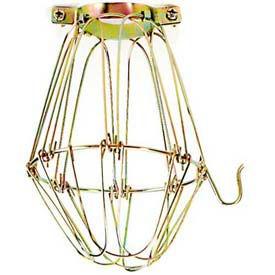 Satco 90-1310 Light Bulb Cage - Brass Finish