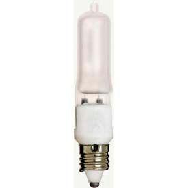 Satco S1916 100q/Fr/Mc 100w Halogen W/ Mini Can Base Bulb - Pkg Qty 12