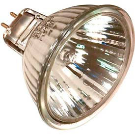 Satco S2601 20mr16/B/Fl 20w Halogen W/ Minature 2 Pin Round Base Bulb - Pkg Qty 20