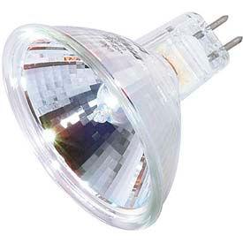Satco S3170 50mr16/Nsp/C 50w Halogen W/ Minature 2 Pin Round Base, 12v Bulb - Pkg Qty 12