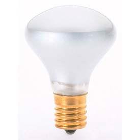 Satco S3215 40r14n 40w Incandescent W/ Intermediate Base Bulb - Pkg Qty 25