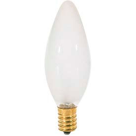 Satco S3382 60b10 F 60w Incandescent W European Base Bulb