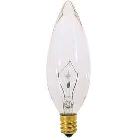 Satco S3390 25b9 1/2 25w Incandescent W/ European Base Bulb - Pkg Qty 25