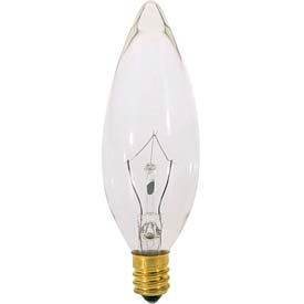 Satco S3392 60b10 60w Incandescent W/ European Base Bulb - Pkg Qty 25
