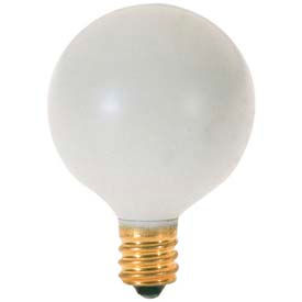 Satco S3830 10g12 1/2/W 10w Incandescent W/ Candelabra Base Bulb - Pkg Qty 25