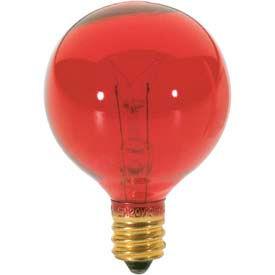 Satco S3833 10g12 1/2/R 10w Incandescent W/ Candelabra Base Bulb - Pkg Qty 25