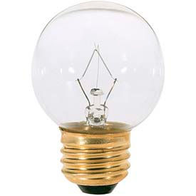 Satco S3838 25g16 1/2 25w Incandescent W/ Medium Base, Clear Bulb - Pkg Qty 25