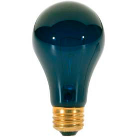 Satco S3920 75a/Blacklight 75w Incandescent W/ Medium Base Bulb - Pkg Qty 6