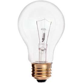 Satco S3941 40a19/Cl 40w Incandescent W/ Medium Base, 130v, 2500 Hrs. Bulb - Pkg Qty 120