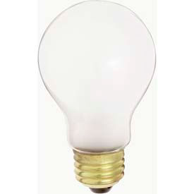 Satco S4078 75a19/W/230v 75w Incandescent W/ Medium Base Bulb - Pkg Qty 120