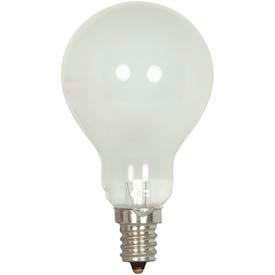 Satco S4165 40a15/F/E17 40w Incandescent W/ Intermediate Base Bulb - Pkg Qty 25