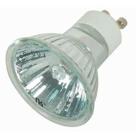Satco S4190 20mr16/Bab/Alu/Gu10 20w Halogen W/ Twist & Turn Base Bulb - Pkg Qty 12