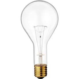 Satco S4961 300PS35/CL 300W Incandescent w/ Mogul Base
