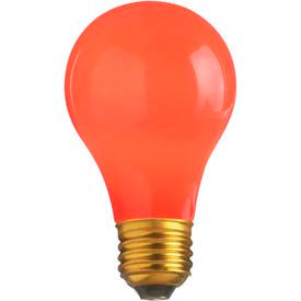 Satco S4984 60a/R 60w Incandescent W/ Medium Base Bulb - Pkg Qty 12