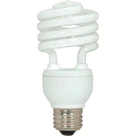 Satco S6272 18t2/41 18w W/ Medium Base -Bright White- Cfl Bulb - Pkg Qty 12