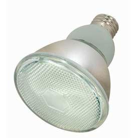 Satco S7205 15par30/41 15w W/ Medium Base -Cool White- Cfl Bulb - Pkg Qty 6