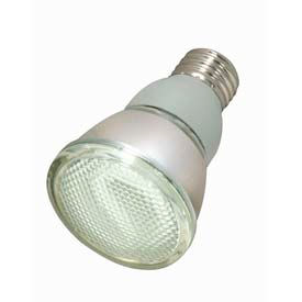 Satco S7207 11par20/27 11w W/ Medium Base -Warm White- Cfl Bulb - Pkg Qty 6