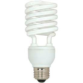 Satco S7233 26t2/50 26w W/ Medium Base -Daylight- Cfl Bulb - Pkg Qty 12
