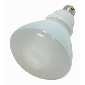 Satco S7241 23r40/27 23w W/ Medium Base -Warm White- Cfl Bulb - Pkg Qty 6