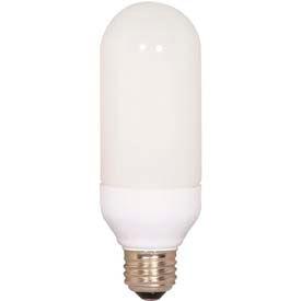 Satco S7309 Eft15/50 15w W/ Medium Base -Natural Light- Cfl Bulb - Pkg Qty 12