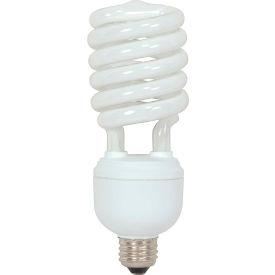 Satco S7335 40t4/41 40w W/ Medium Base -Bright White- Cfl Bulb - Pkg Qty 12