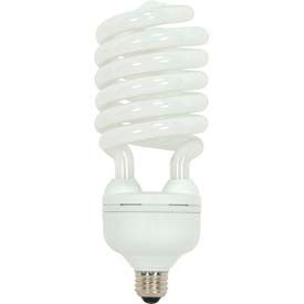 Satco S7388 65t5/41 65w W/ Mogul Base - Bright White- Cfl Bulb - Pkg Qty 12