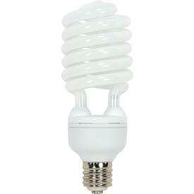 Satco S7389 65t5/50 65w W/ Mogul Base - Natural Light- Cfl Bulb - Pkg Qty 12