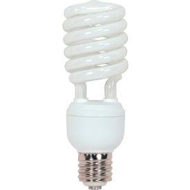 Satco S7428 40 Watt Hi-Pro Spiral Compact Fluorescent Light Bulb, Mogul Base, 2600 Lumens,Cool White