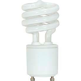 Satco S8203 13gu24v/27 13w W/ Twist & Turn Base - Warm- Cfl Bulb - Pkg Qty 12