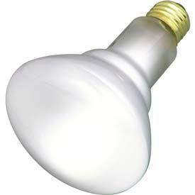 Satco S8521 65br/Fl 65w Incandescent W/ Medium Skirted Base Bulb - Pkg Qty 24