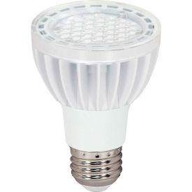 Satco S8922 7 Watt Par20 Led Light Bulb, Medium Base, 435 Lumens, Neutral White