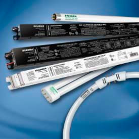 Sylvania 51481 QHE4X54T5HO/347-480 PSN HT SCL-High Effic 4 lamp 347-480V 54W EB runs 4 or 3 lamps by