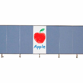 Screenflex 6'H Dry Erase Overlay