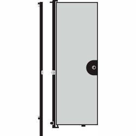 Screenflex 8'H Door - Mounted to End of Room Divider - Grey